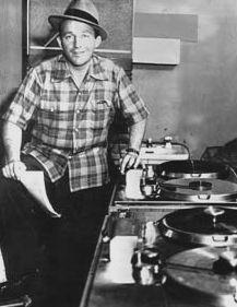 Bing Crosby with Ampex 200