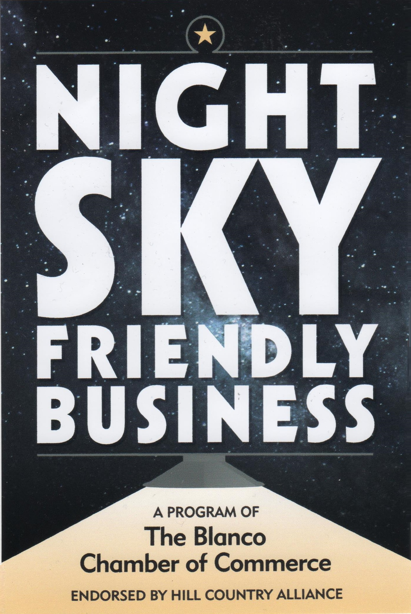 Night Sky Friendly Businesses